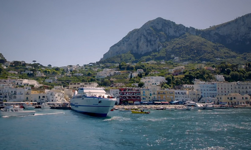 Gino D'Acampo sailed to the island of Capri from Sorrento on Gino's Italian Coastal Escape