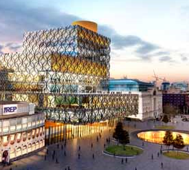 New Birmingham Library – a place to visit in the heart of Birmingham