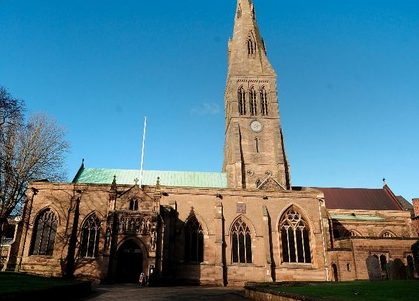 The Cathedral of Leicester site of King Richard the Third Memorial