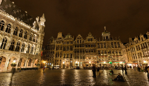 Brussels plays host to The Apprentice Candidates in Belgium