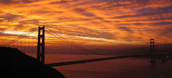 Pictures of the Golden Gate Bridge in San Francisco